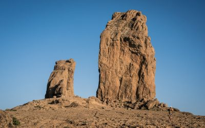 The impressive Roque Nublo will host the start of the 360º